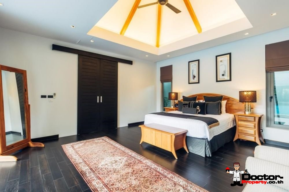 5 Bedroom Pool Anchan Villa - Cherng Talay - Bang Tao Beach - Phuket West - for sale