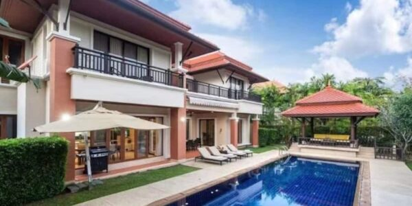 5 Bedroom Pool Villa - Laguna Village - Bang Tao Beach - Phuket West - for sale