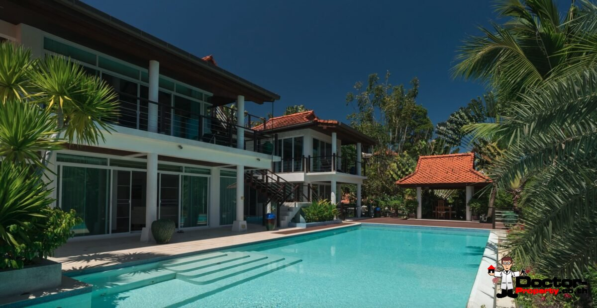 5 Bedroom Sea View Villa - Paradise Heights Yamu - Cape Yamu - Phuket East - for sale