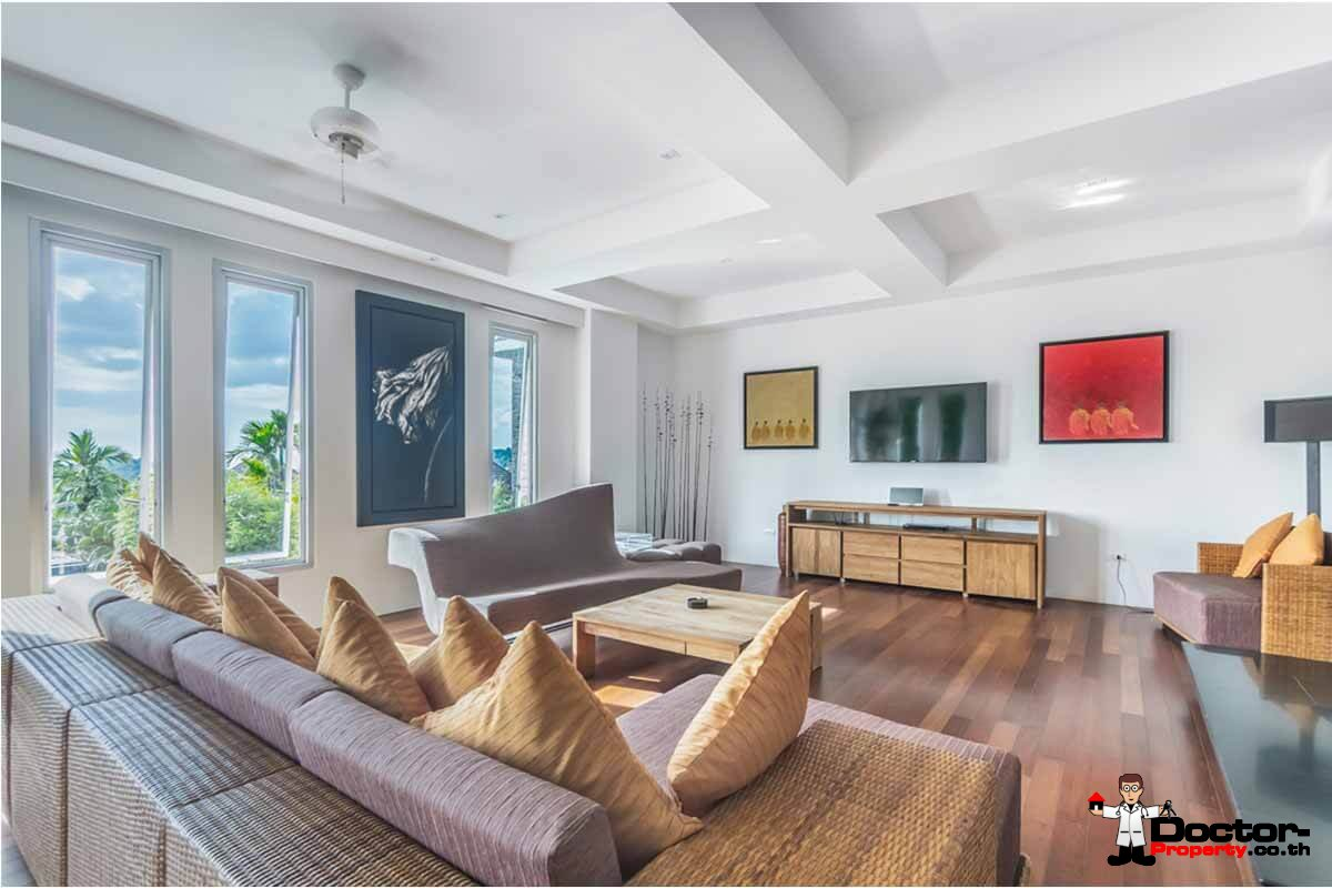 5 Bedroom Villa Bauhinia - Fantastic Sea View - Layan Beach - Phuket West - for sale