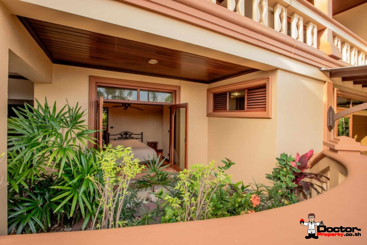 7 Bedroom Thai Style Sea View Pool Villa - Layan Beach - Phuket West - for sale