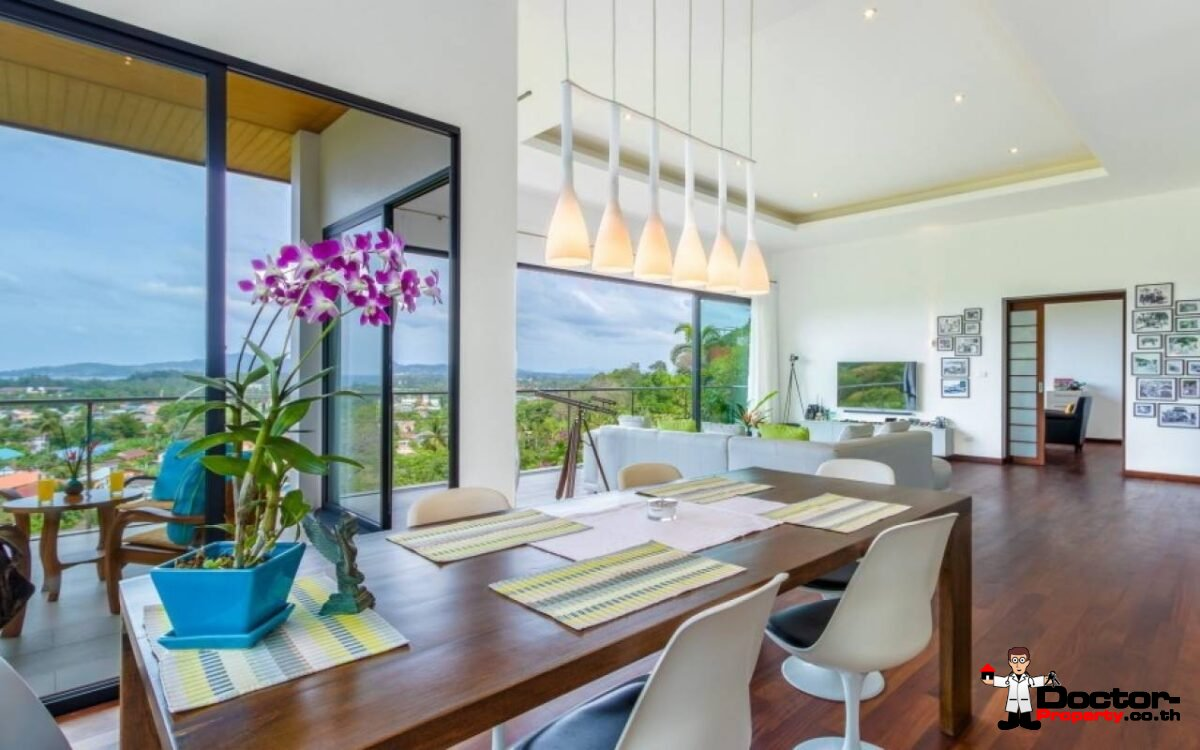 Amazing 5 Bedroom Sea View Villa - Bang Tao Beach - Phuket West - for sale