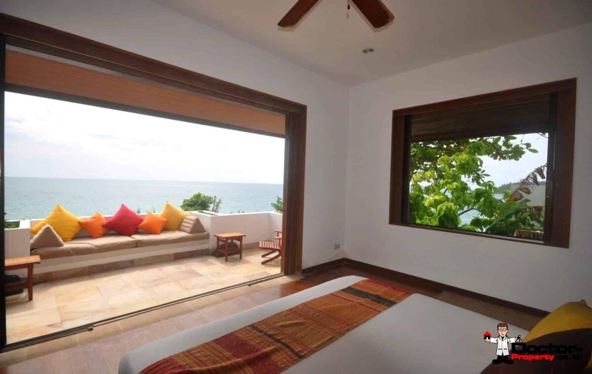 Beachfront 4 Bedroom Pool Villa - Kata Beach - Phuket South - for sale