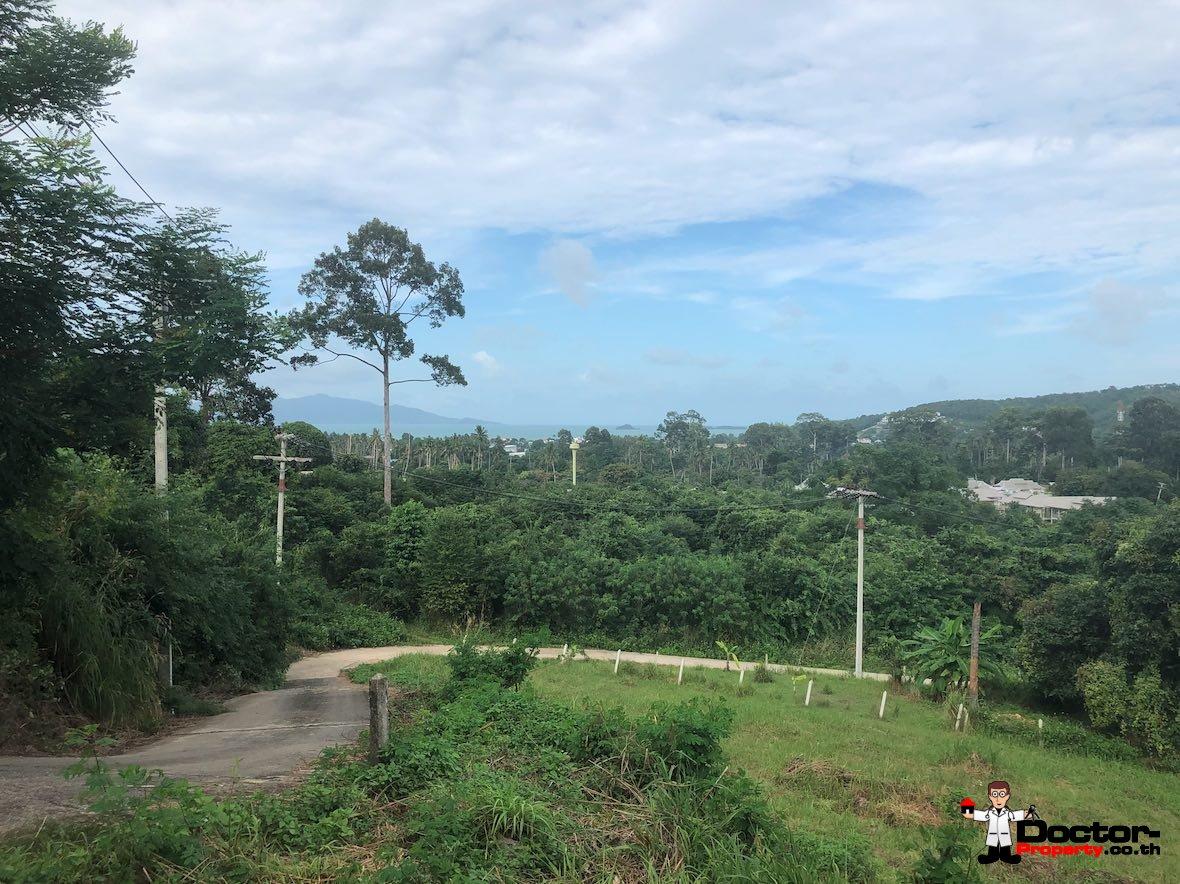 Fantastic 2 Rai Sea View Land - Bophut - Koh Samui - for sale