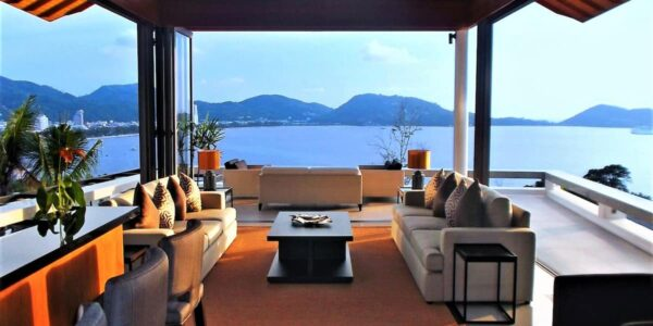 Fantastic 6 Bedroom Villa - Panoramic Sea View - Kalim Beach - Phuket West - for sale