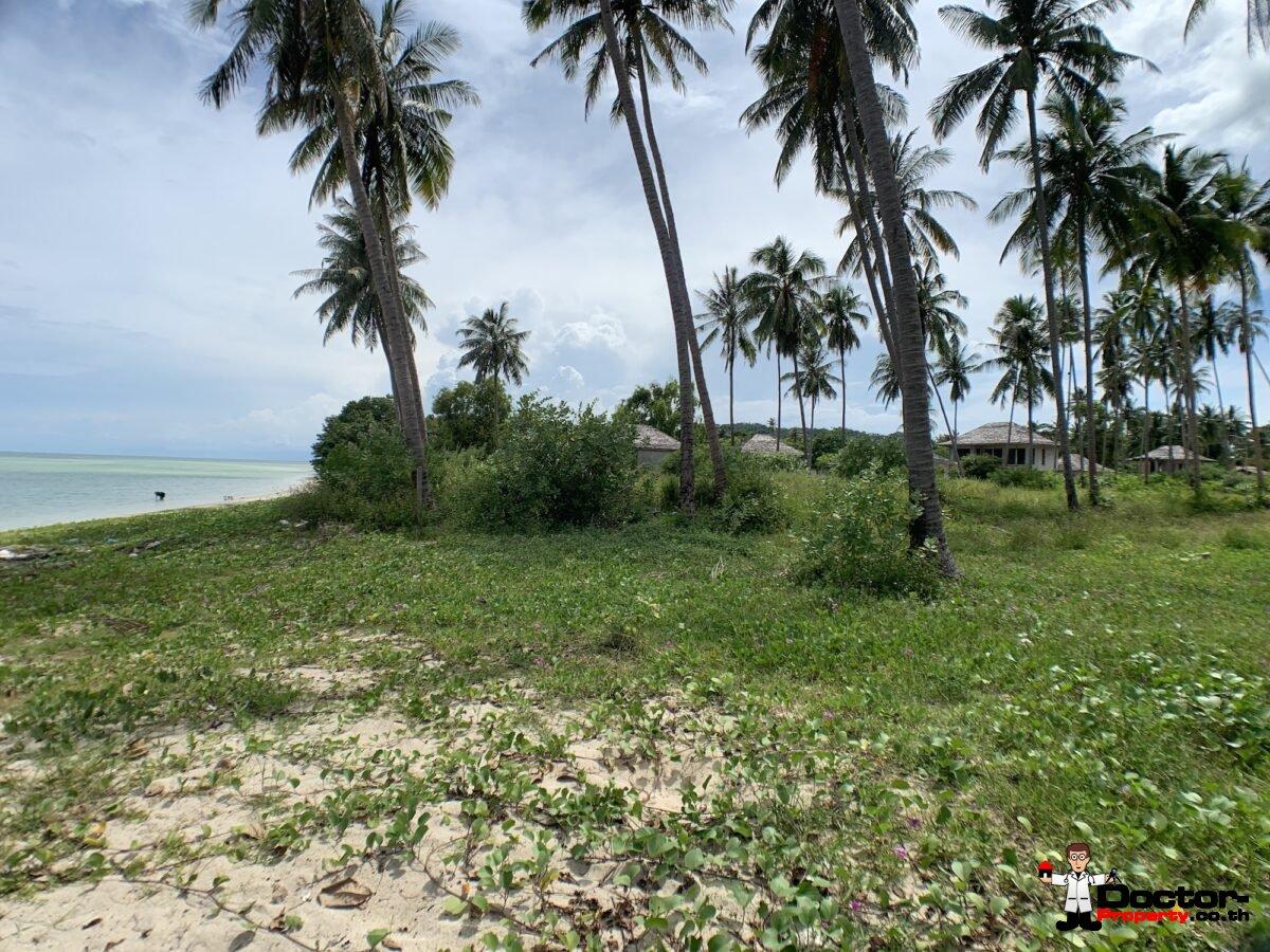 Great Beachfront Land in Hua Thanon, Koh Samui - For Sale
