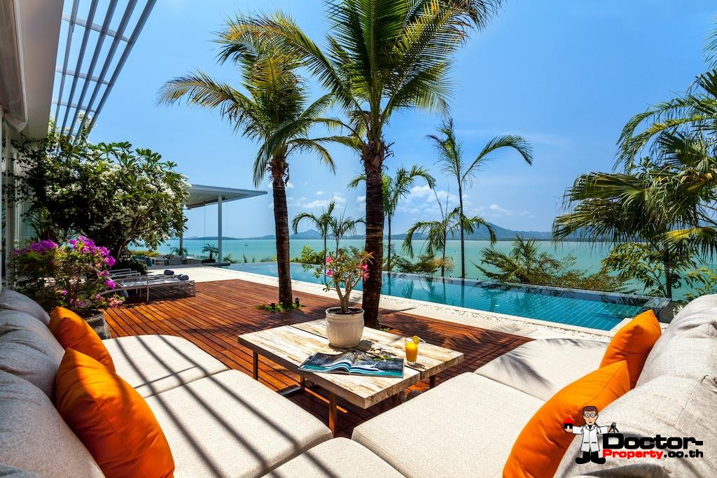 Luxury 5 Bedroom Sea View Villa Kalipay - Cape Yamu - Phuket East - for sale