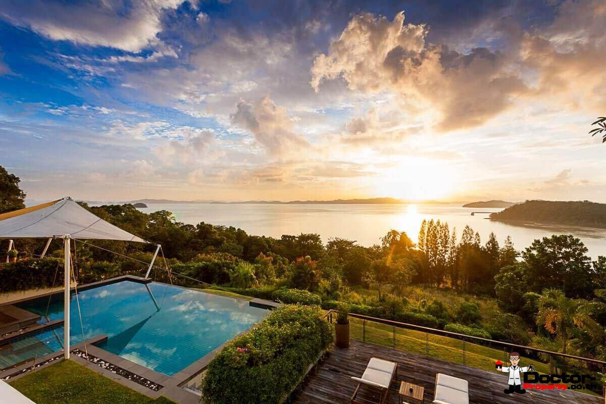 Luxury 6 Bedroom Sea View Villa - Ao Po - Phuket East - for sale