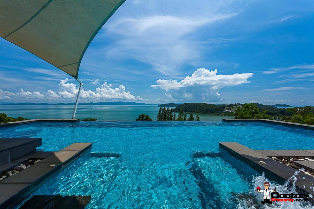 Luxury 6 Bedroom Sea View Villa - Ao Po - Phuket East - for sale