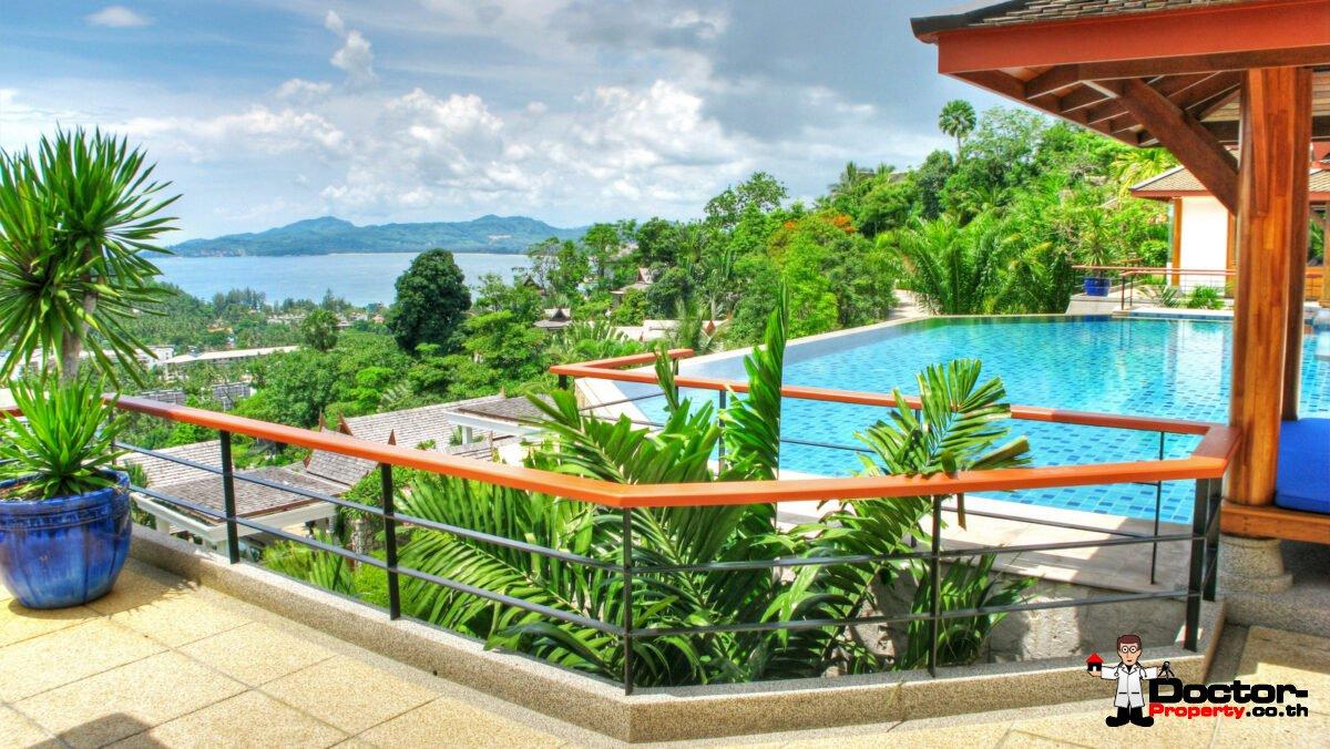 Luxury 6 Bedroom Sea View Villa - Rak Tawan - Surin Beach - Phuket West - for sale