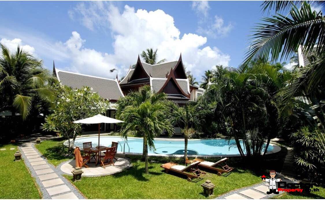 Luxury 8 Bedroom Himmaphan Villa Resort - Bang Tao Beach - Phuket West - for sale