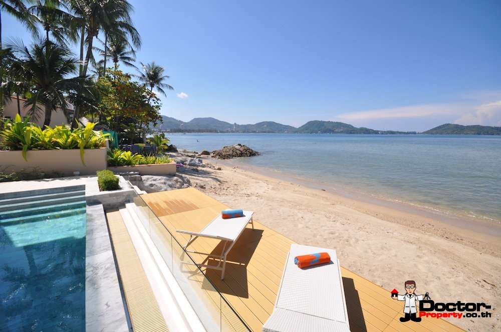 Modern 3 Bedroom Beachfront House – Kalim Beach – Phuket West – for sale