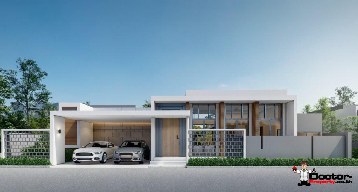 New 2 - 3 Bedroom Privat Pool Villa - Bophut - Koh Samui - for sale