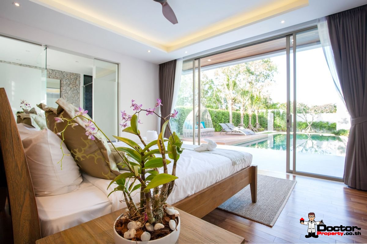 New 3 Bedroom Pool Villa - Bang Tao Beach - Phuket West - for sale