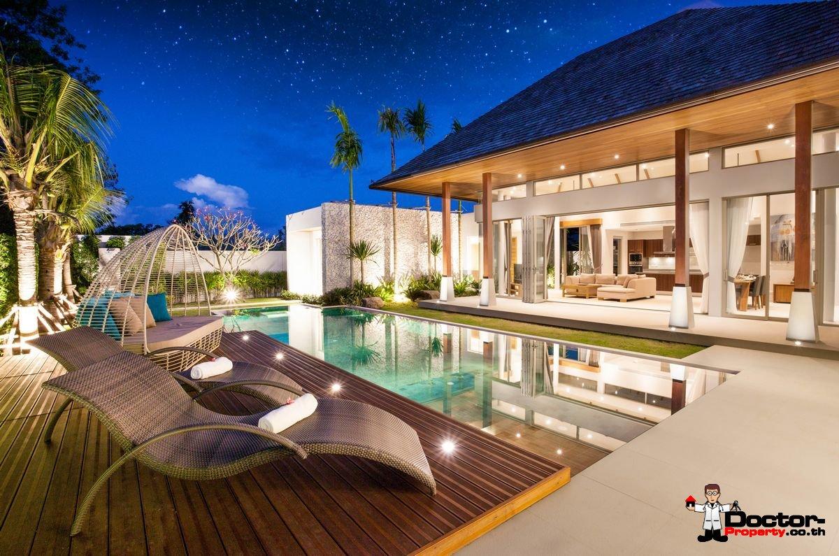 New 3 Bedroom Pool Villa - Bang Tao Beach - Phuket West - for sale