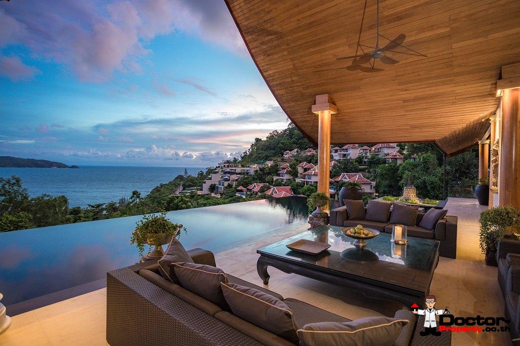 Stunning 4 Bedroom Sea View Villa - Kalim Beach - Phuket West - for sale