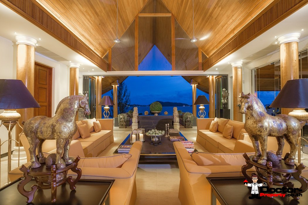Stunning 4 Bedroom Sea View Villa - Kalim Beach - Phuket West - for sale