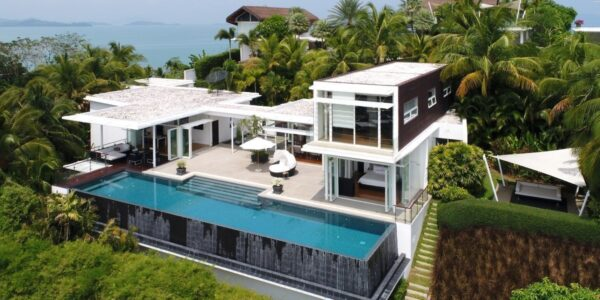Stunning 4 Bedroom Sea View Villa - The Bay Cape Yamu - Phuket East - for sale