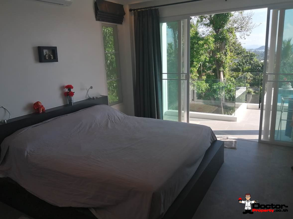 3 Bedroom Sea View Villa - Nathon - Koh Samui - for sale