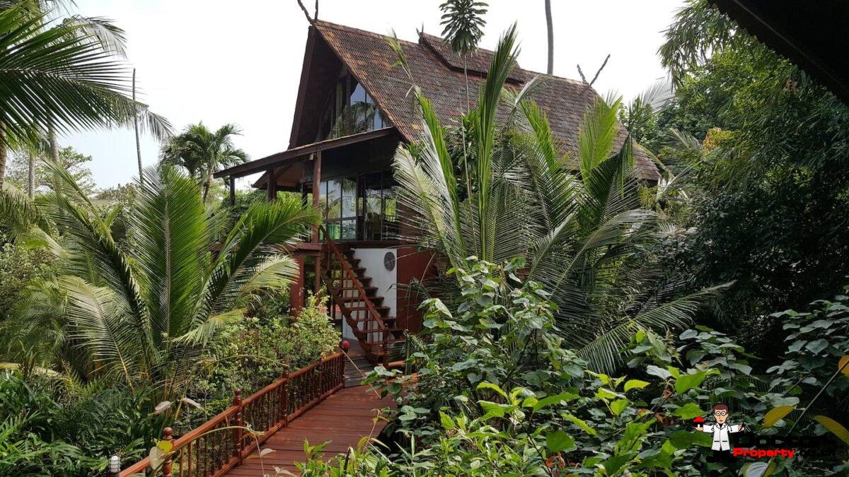 4 Bedroom Beach Resort Villa - Bang Por - Koh Samui - for sale