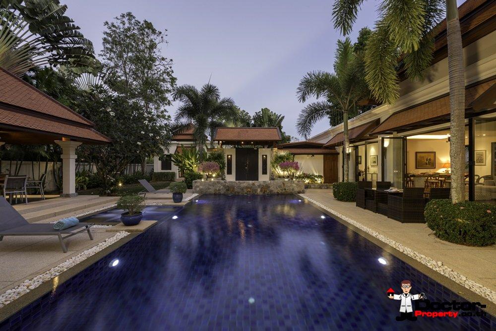 4 Bedroom Privat Pool Sai Taan Villa - Near Laguna Resort - Bang Tao Beach - Phuket West - for sale