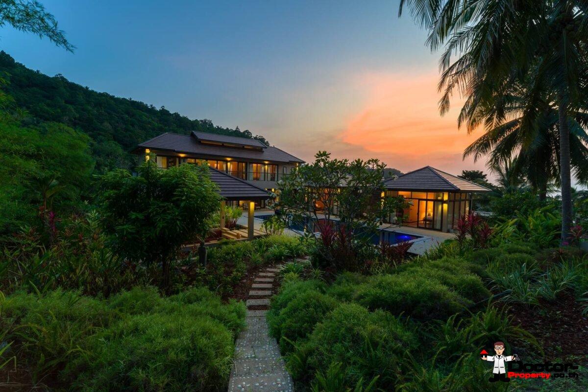 4 Bedroom Sea View Villa - Bang Por - Koh Samui - for sale