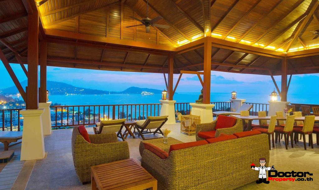 4 Bedroom Villa - Breathtaking Patong Bay Views - Patong Beach - Phuket West - for sale