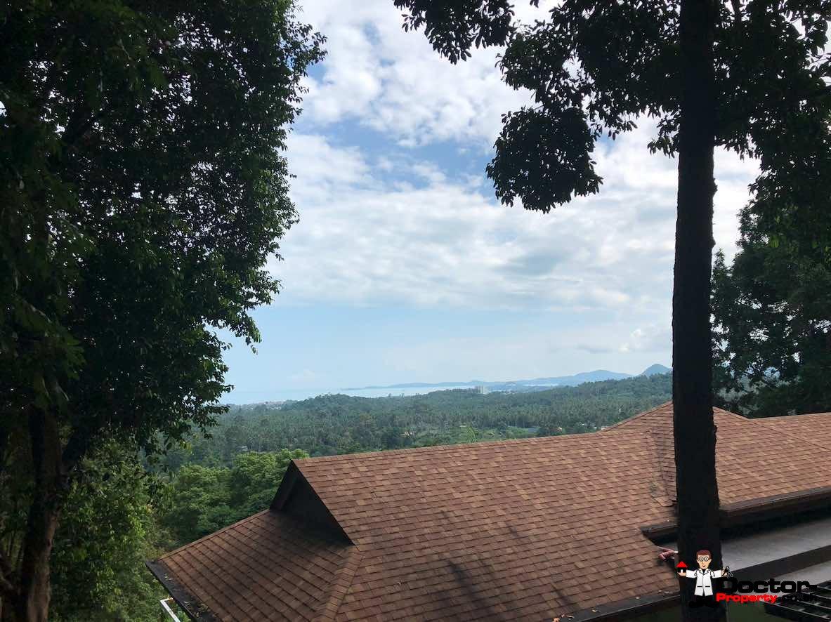 908 sqm Sea View Land - Bang Por - Koh Samui - for sale