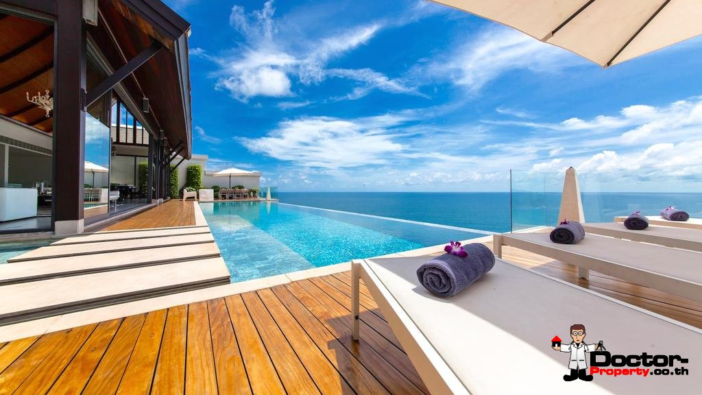 Breathtaking 5 Bedroom Sea Villa Paradiso - Nai Thon Beach - Phuket West - for sale