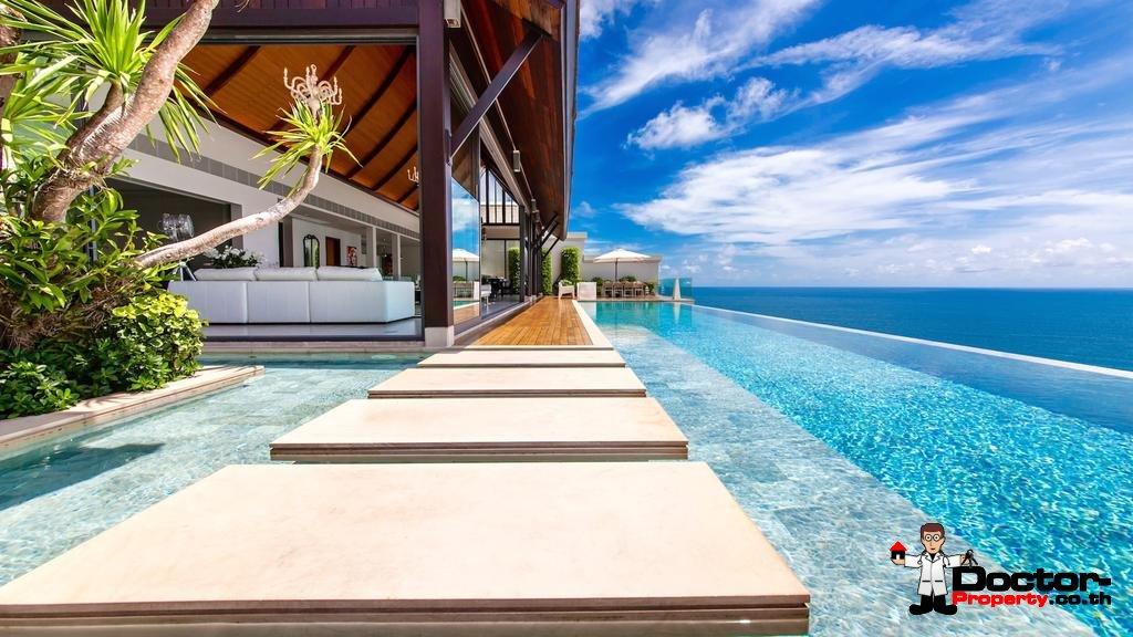 Breathtaking 5 Bedroom Sea Villa Paradiso - Nai Thon Beach - Phuket West - for sale
