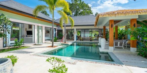 Fantastic 3 Bedroom Garden Pool Villa - Maenam - Koh Samui - for sale