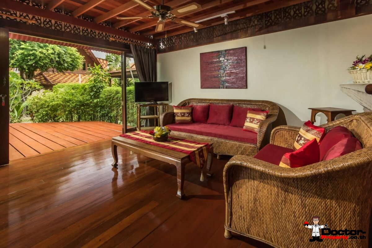 Fantastic 3 Bedroom Traditional Villa close to the Beach - Bang Por - Koh Samui - for sale