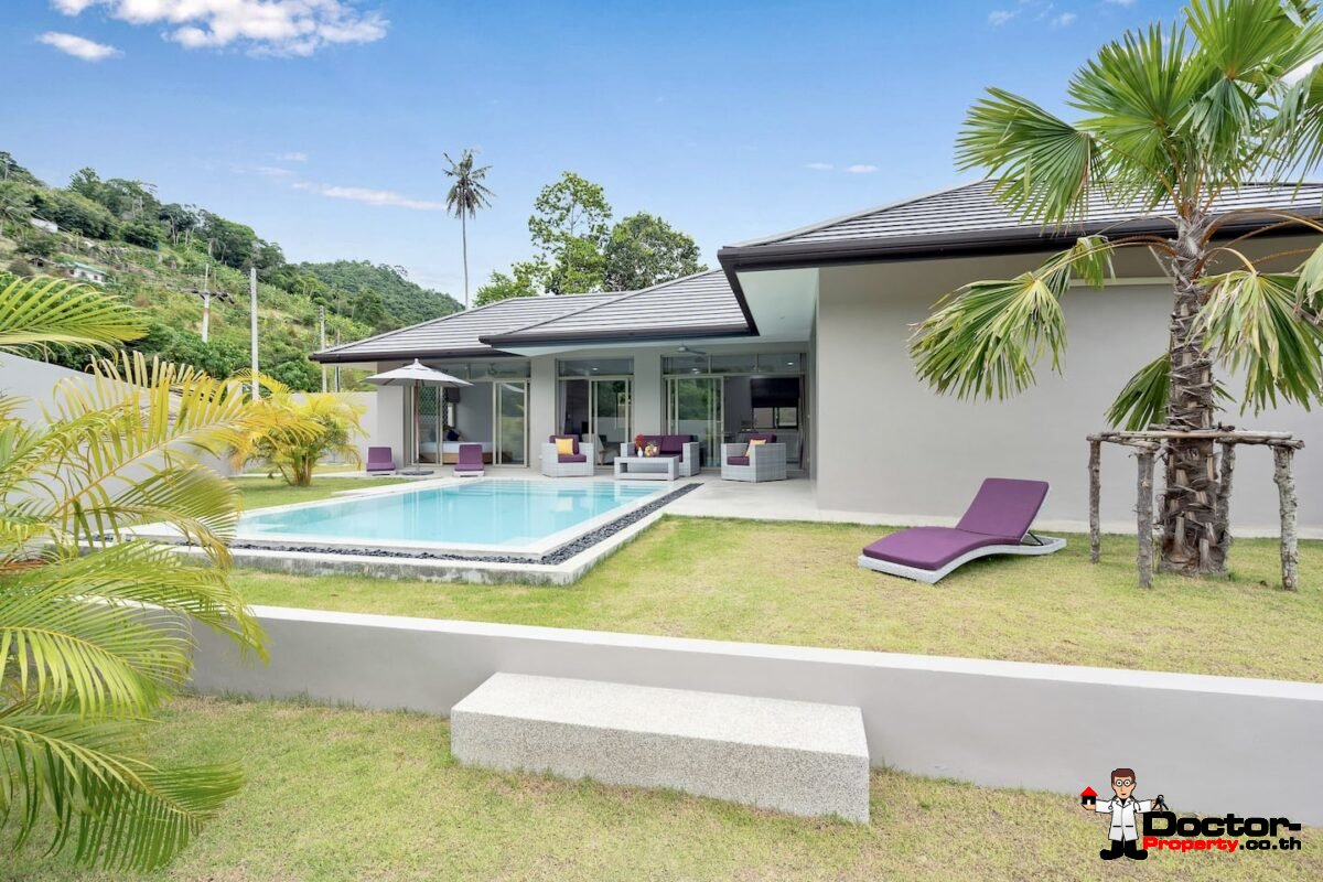 3 Bedroom Pool Villa – Lamai, Koh Samui – For Sale