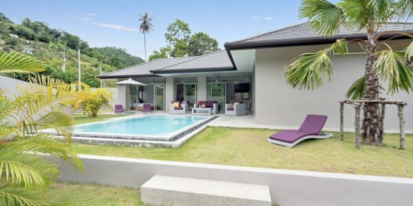 3 Bedroom Pool Villa – Lamai, Koh Samui – For Sale