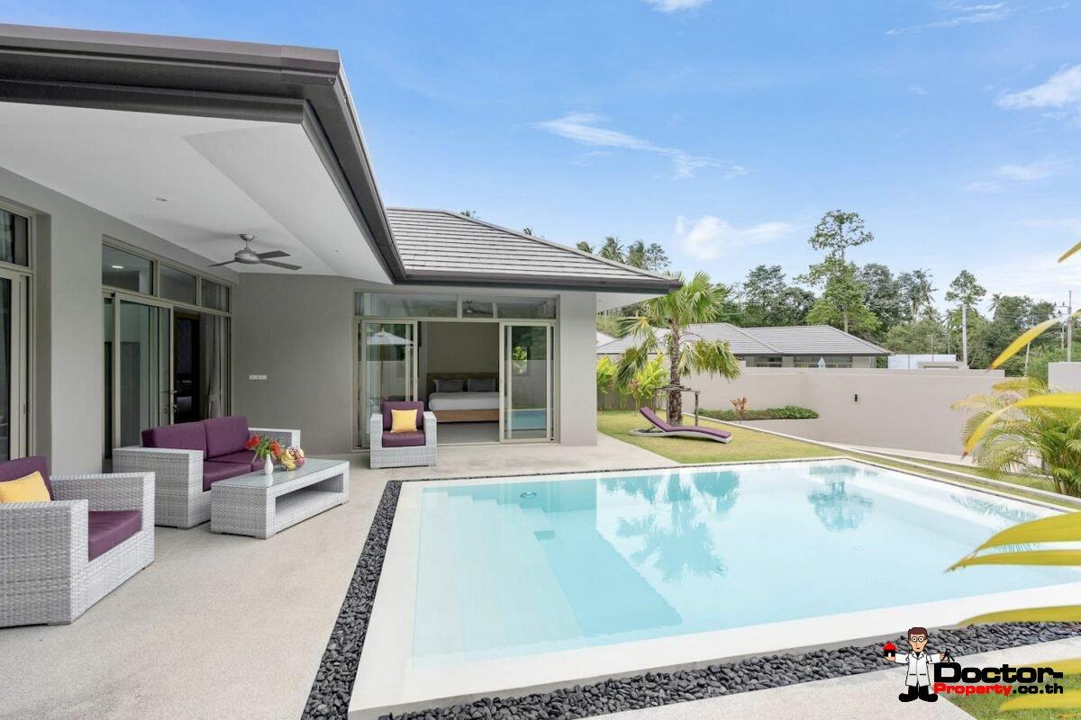 3 Bedroom Pool Villa - Lamai, Koh Samui - For Sale