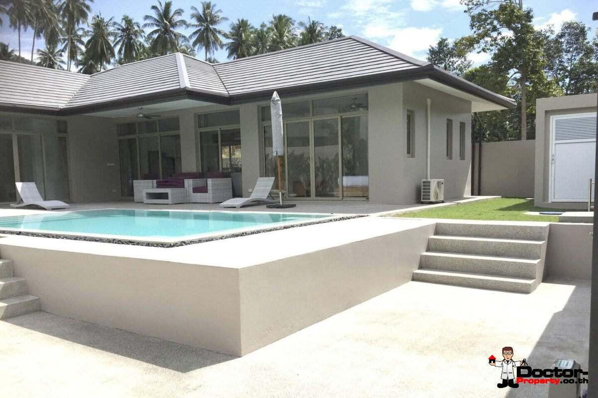 3 Bedroom Pool Villa - Lamai, Koh Samui - For Sale
