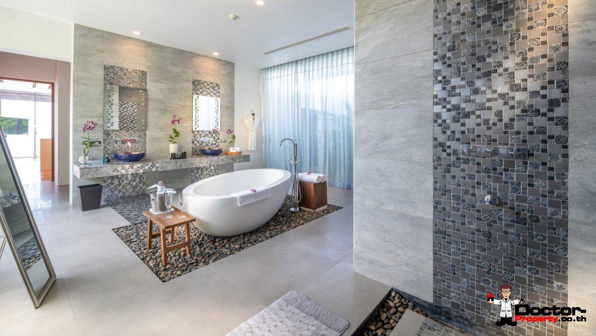 Luxury 4 Bedroom Sea View Villa Solaris - Kamala Headlands - Phuket West - for sale