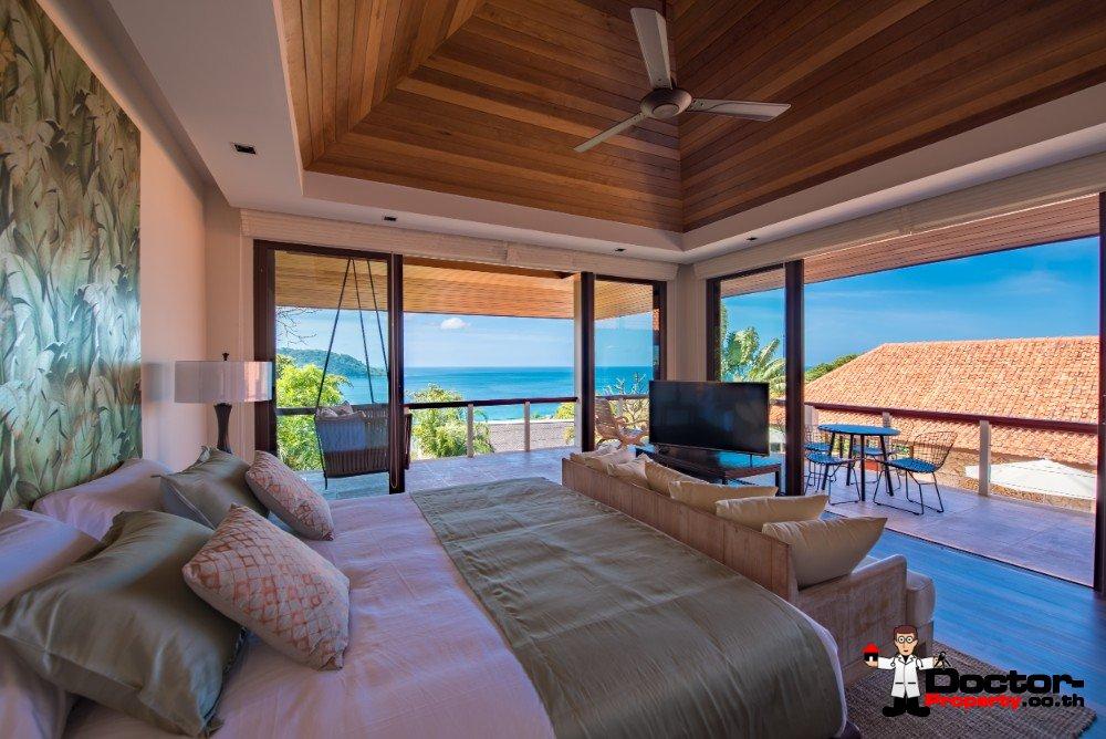 Luxury 5 Bedroom Sea View Villa - Katamanda - Kata Beach - Phuket South - for sale