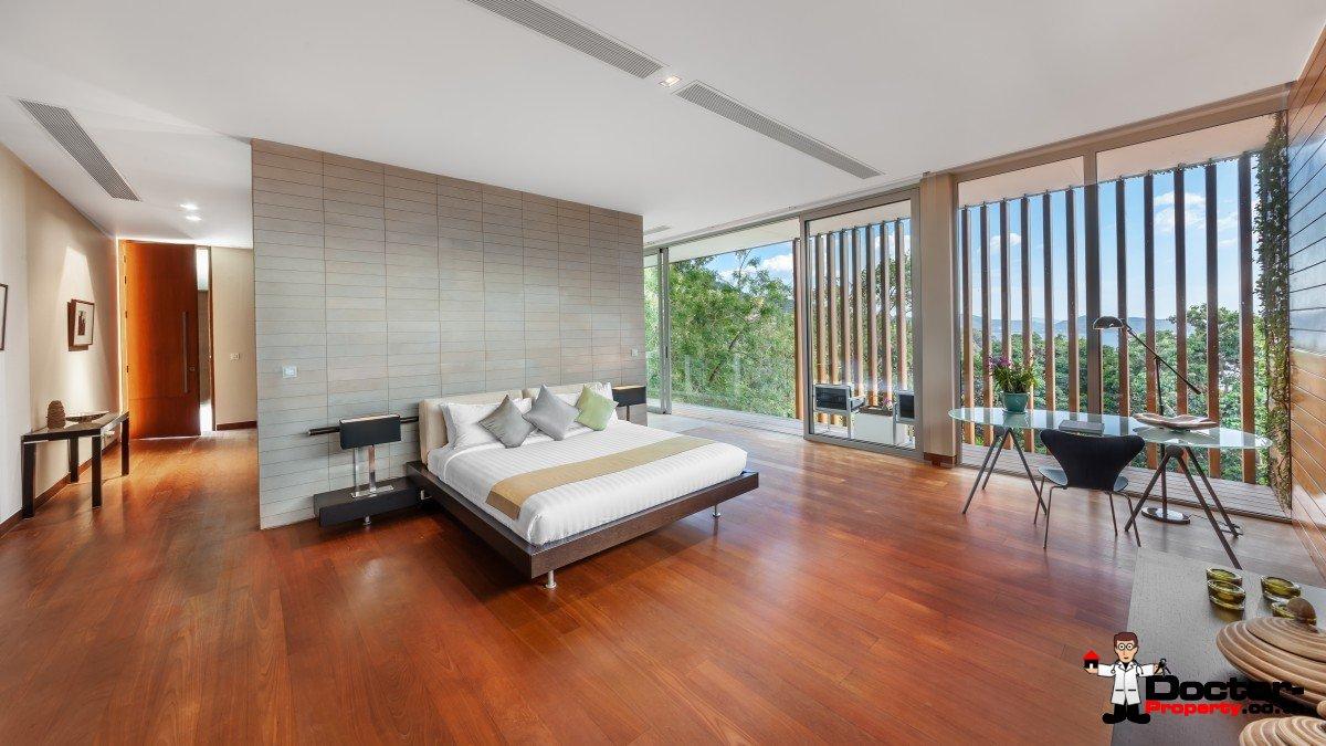Stunning 4 Bedroom Sea View Villa - Mayavee - Waterfall Bay - Kamala Beach - Phuket West - for sale