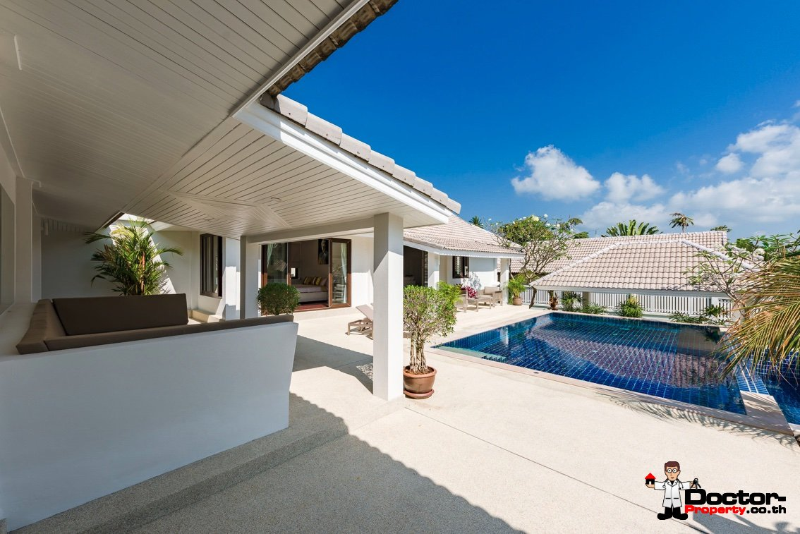 3 Bedroom Garden Pool Villa - Bophut - Koh Samui - for sale