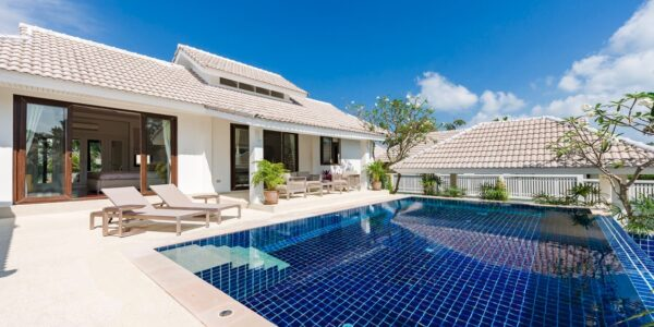 3 Bedroom Garden Pool Villa - Bophut - Koh Samui - for sale