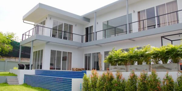 5 Bedroom Sea View Villa - Bang Rak - Koh Samui - for sale