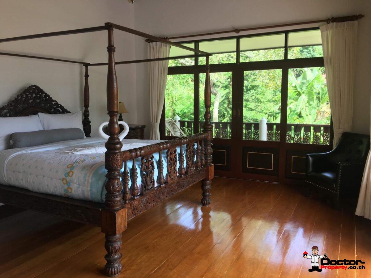 Balinese Garden Villa 4 Bedrooms - Bang Por - Koh Samui - for sale
