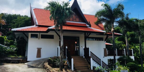 Balinese Garden Villa 4 Bedrooms - Bang Por - Koh Samui - for sale