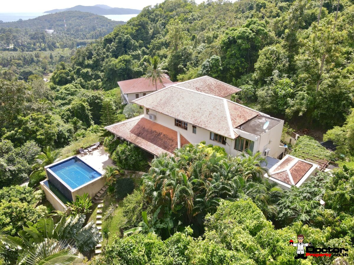3 Bedroom Villa With Sea View, Taling Ngam, Koh Samui – For Sale