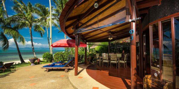 Fantastic 3 Bedroom Beachfront Villa - Bang Por - Koh Samui - for sale