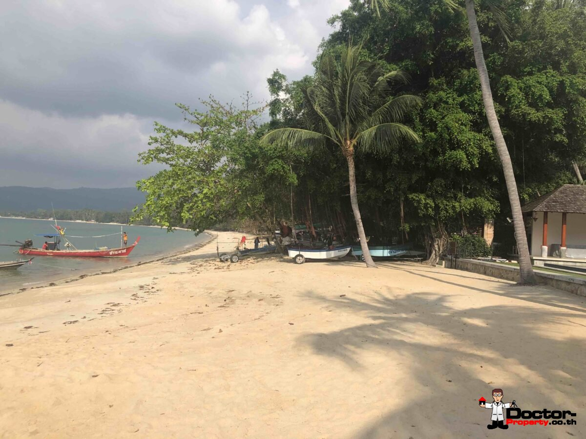 Fantastic Beachfront Land 1,5 - 6 Rai - Lipa Noi - Koh Samui - for sale