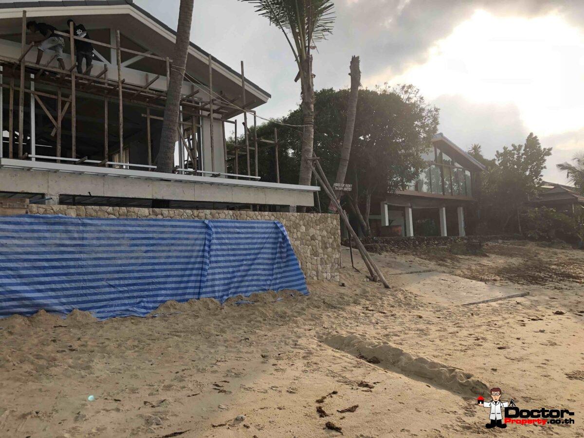 Near 1 Rai Stunning Beachfront Land - Bang Por - Koh Samui - for sale