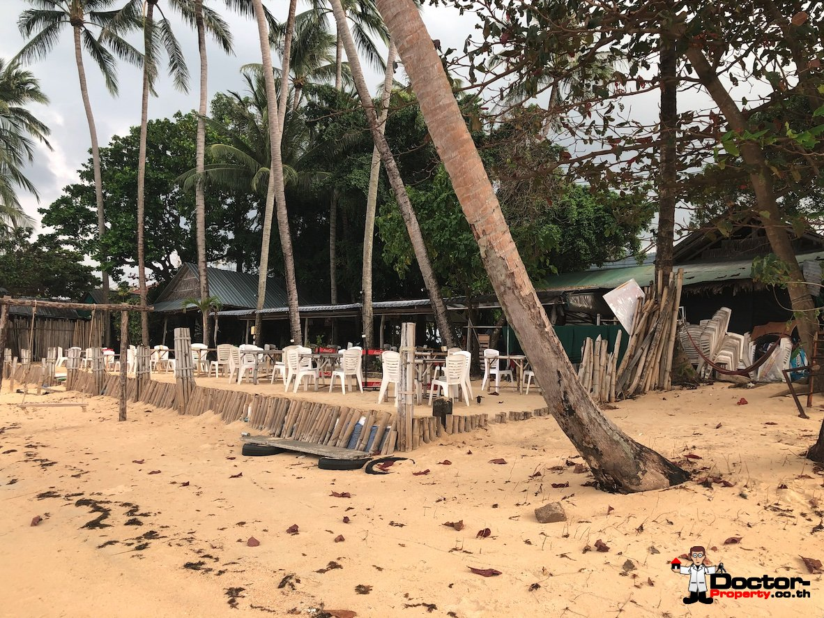 Perfect 1 Rai Beachfront Land - Bang Por - Koh Samui - for sale