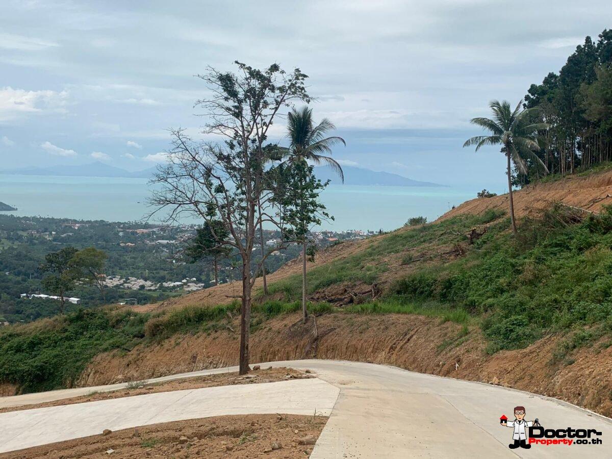 Stunning Sea View Land - Bophut - Koh Samui - for sale